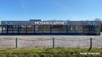 Mosaikhjørnets nye butik på Mosevangen 6 i Svenstrup, Aalborg