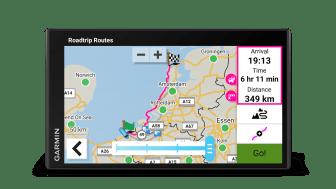 Garmin_CamperVan_Roadtrip Routes