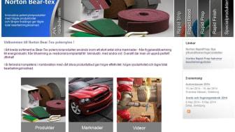 Ny hemsida för Norton polernylonprodukter