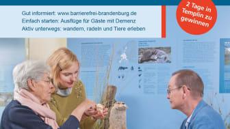 Brandenburg gehört zu den Vorreitern im barrierefreien Tourismus.