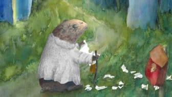 Adjö Muffin - illustration av Clara Waller