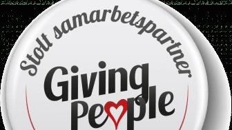 Delvator har valt att samarbeta med Giving People