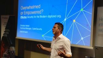 Christian Heinel från Cisco är en av huvudtalarna på ECS 2019