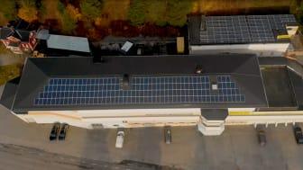 Solceller på Malux