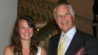 Helena Frieberg fick Anders Wall-stipendium