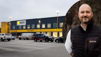 """""""Specialistkunskapen från medarbetarna hos Fasad & Betong kommer stärka vårt största byggvaruhus i Stockholm ytterligare"""", säger Jens Karlsten regionchef Stockholm hos Beijer Byggmaterial."""