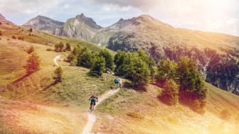 Mountainbiken in Leukerbad, Wallis (c) Valais Wallis Promotion - Pascal Gertschen
