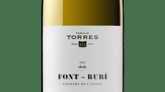 Torres Font-Rubì 2018, ett bybetecknat vin som lanseras exklusivt på Systembolaget den 4 oktober.