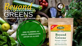 Beyond Greens - fermentert, økologisk gressblanding