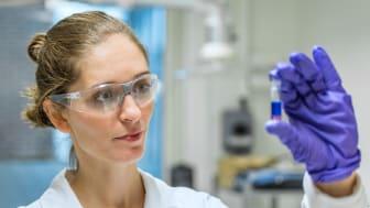 Nathália Vieceli forskar på att återvinna metaller ur uttjänta litiumjonbatterier vid Chalmers i Göteborg och mottagare av Renovas Miljöstipendium 2020