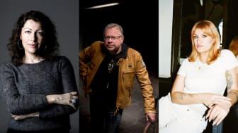 Elisabeth Åsbrink, Thomas Pettersson och Tone Schunnesson är några av författarna i vårens biblioteksprogram.
