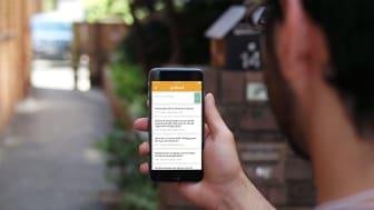 App för katastrofer och festivaler
