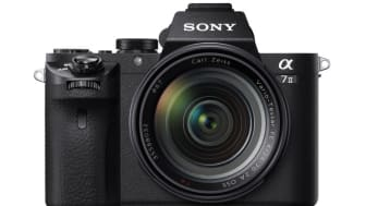 Sony Adds Uncompressed RAW and Phase DetectionAF for Faster and More Precise Autofocus to α7 II Full Frame Camera