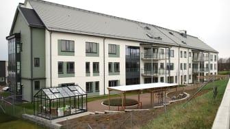 Attendos särskilda boende på Errarps Ängar där kommunen har nio platser för särskilt boende.