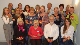 Svensk Trädgård tillsammans med engagerade äppelentusiaster.
