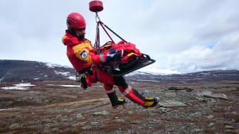 Bild: Alpina Fjällräddningen, Kiruna/S. Nilsson