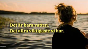 Den 5 juli startar en kampanj om att använda dricksvattnet sparsamt. Foto: Mathilda Lindqvist