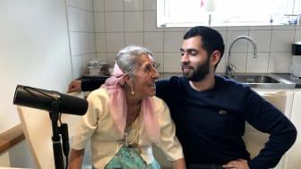 Dusan Marinkovic, 22 år gammal, från Malmö och Singoalla Millon, 84 år gammal, från Göteborg medverkar i Flyktpoddens tredje avsnitt.