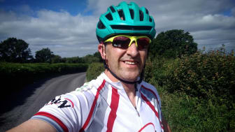 Southern's Andy Turner will be cycling from London to Paris in aid of St Catherine's Hospice in Crawley