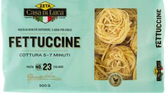 Zeta Casa Di Luca Fettuccine bakad med ägg från frigående höns