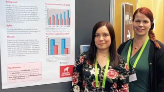Distriktssköterskorna Marie Perssons och Maria Boströms Astmakollen kan hjälpa patienter att få bättre koll på sin astma.