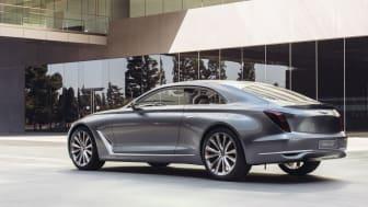 Hyundais konseptbil Vision G (1/4 bakfra venstre)