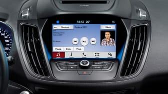 Ford SYNC 3 lanseres i Norge – med norsk stemmestyring