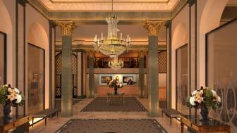 Impressive refurbishment for the iconic Grand Hôtel lobby