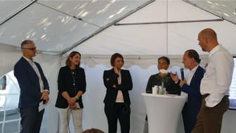 Christina Bu (VD Norsk Elbilforening), Marina Maneas Bakkum (Communications Director, Nissan Nordic Europe)