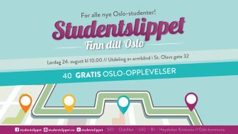Delta på 40 gratis Oslo-opplevelser og bli kjent med byen og hverandre