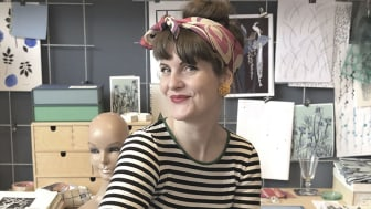 Entreprenören Maria Pihlblad brinner för vintage. Fotograf: Rebecka Ryberg Skött