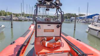 AHTI mukana tukemassa Turun meripelastustoimintaa