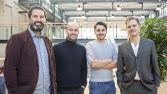 Teamet på Eperoto som nu antagits till Chalmers Ventures Accelerator