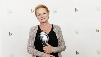 Den folkekære skuespiller og instruktør Lisbet Dahl modtager Årets Hæderspris 2016.