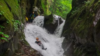 Embrace nature through canyoning