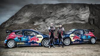 Team Peugeot-Hansen lanserar VM-satsning i rallycross