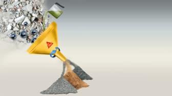 Sika utvecklar banbrytande ny process för återvinning av betong