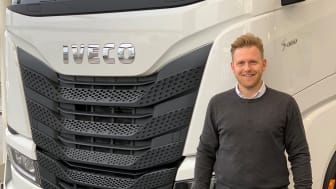 Søren Knoth, ny transportkonsulent (Medium/Heavy lastbiler) hos IVECO Odense