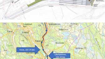 Illustrasjon / kart over hensettingsområdet.
