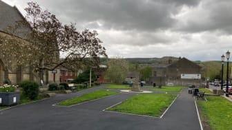 Latest work to improve St Paul's Church Gardens in Ramsbottom
