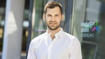 Davor Mihajlovic rekryteras som projektledare på Landvetter Södra Utveckling AB.