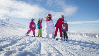 Free ski school, ski rental, ski pass and meals for children up to the age of six.
