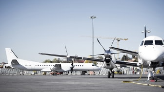 Fortsatt fler resenärer på Bromma i juni