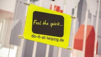 "IMEX 2019: Logo der Kongressinitiative ""Feel the spirit...do-it-at-leipzig.de"""