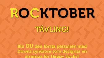 Svenska Downföreningen och Happy Socks i unikt samarbete