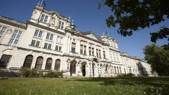 Main building of Cardiff University (UK)