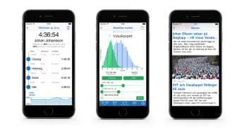 Jämför historiska Vasaloppsresultat i ny app