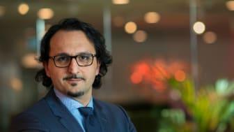 Sebastian Navab, generalsekreterare för Gröna städer.