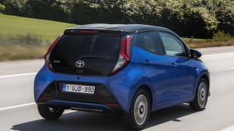 Lenas nitlottt blev en Toyota Aygo