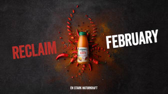 Med kampanjen Reclaim February kommer Brämhults synas kraftigt!